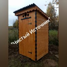 Дачный туалет в Калужской области