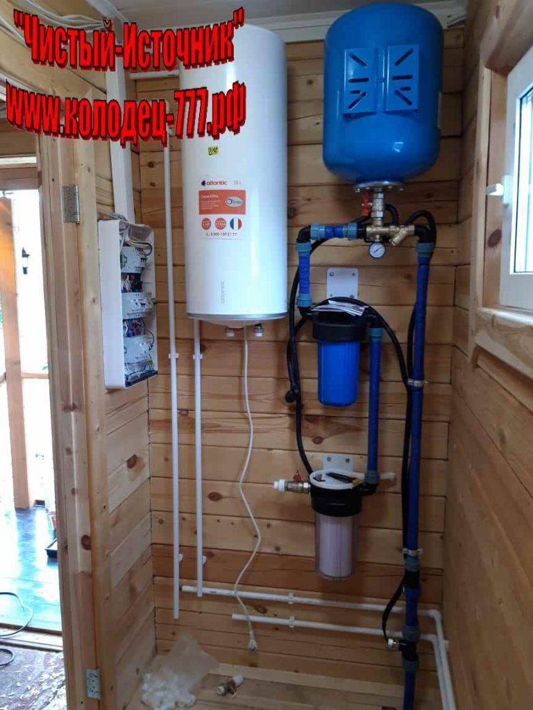 проведение воды в дом